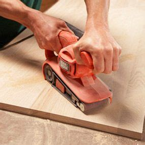 How To Sand Wood Fast
