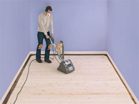 How To Sand Wood Floors Diy Network