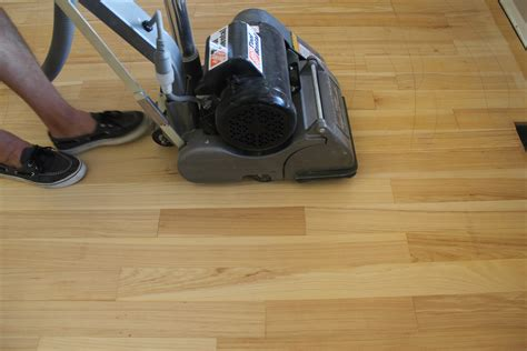 How To Sand Wood Floors With A Floor Machine