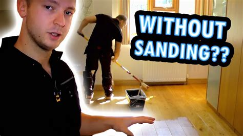 How To Sand Wood Floors Without Dust