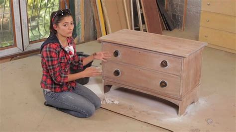 How To Sand Wood Furniture For Painting