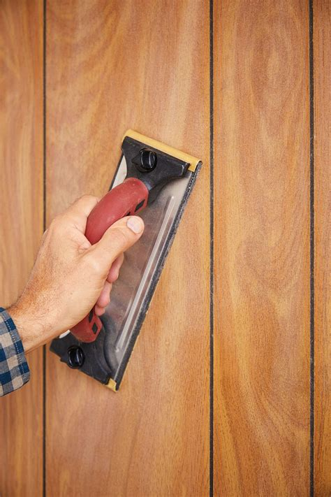 How To Sand Wood Paneling