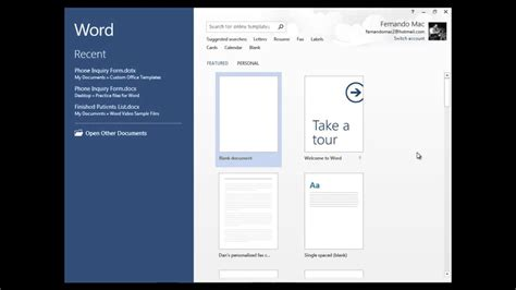 How To Save Word Templates