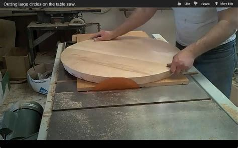 How To Saw A Circle