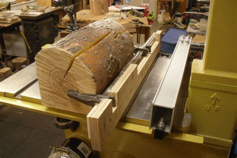 How To Saw A Log