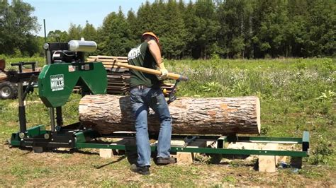 How To Saw Lumber With Woodland Mills Sawmill