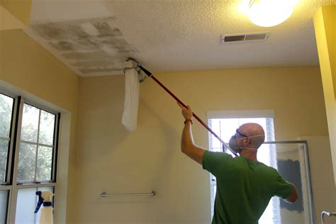 How To Scrape Wood Ceiling
