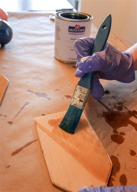 How To Seal Stained Wood For Painting