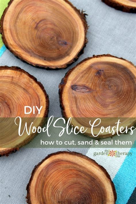 How To Seal Wood Slices