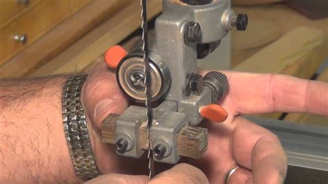 How To Set A Band Saw