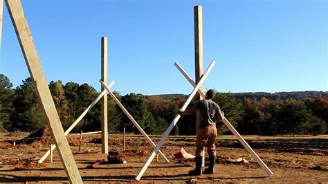 How To Set A Post For A Pole Barn