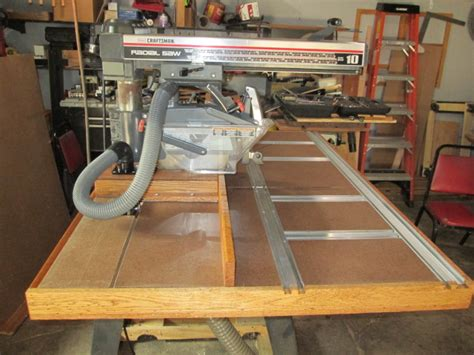 How To Set Up A Radial Arm Saw Table