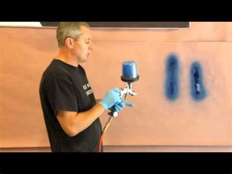 How To Set Up A Spray Gun To Paint A Vehicle