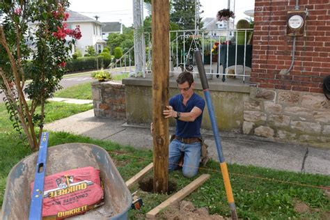 How To Set Up A String Line For A Fence
