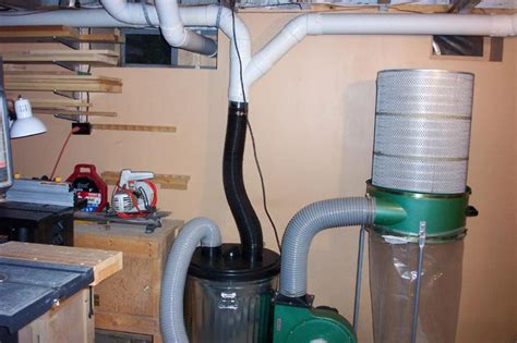 How To Set Up A Woodshop Dust Collector