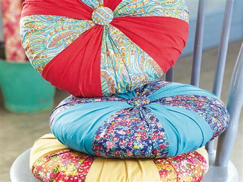 How To Sew A Circle Cushion Cover