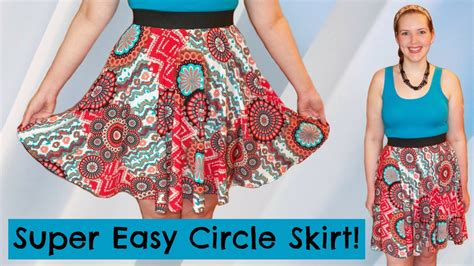 How To Sew A Circle Skirt With Elastic Waist