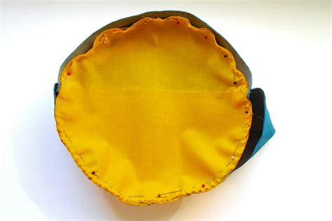 How To Sew A Circle To A Tube