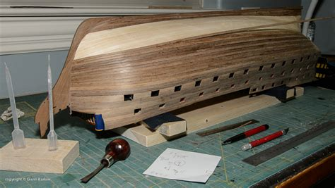 How To Shape Wooden Hull Ship Model