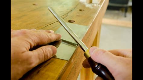 How To Sharpen A Card Scraper For Wood