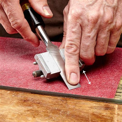 How To Sharpen A Chisel Angle