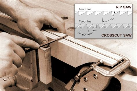 How To Sharpen A Hand Wood Saw