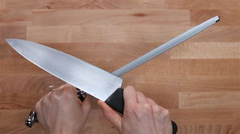 How To Sharpen A Knife With A Brick