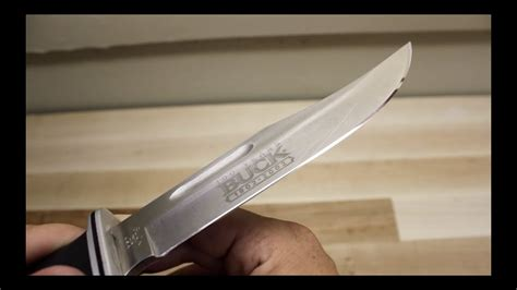 How To Sharpen A Knife With A Buck Workman