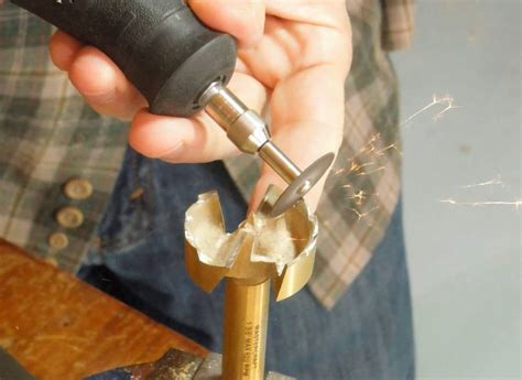 How To Sharpen Drill Bits With A Dremel