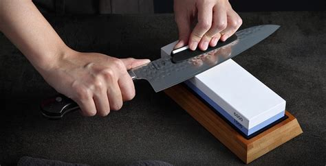 How To Sharpen Pocket Knife With Wet Stone
