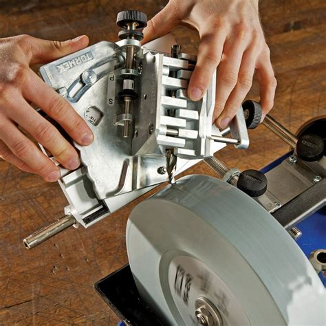 How To Sharpen Router Bits On Tormek