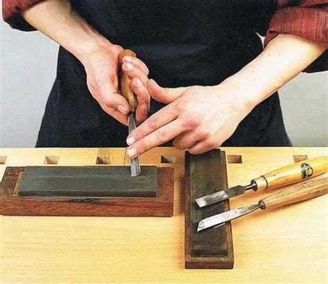 How To Sharpen Small Carving Tools