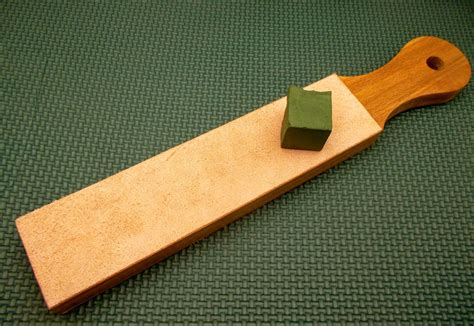 How To Sharpen Tools With A Leather Strop