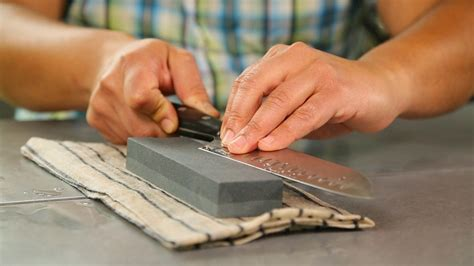 How To Sharpen With A Whetstone