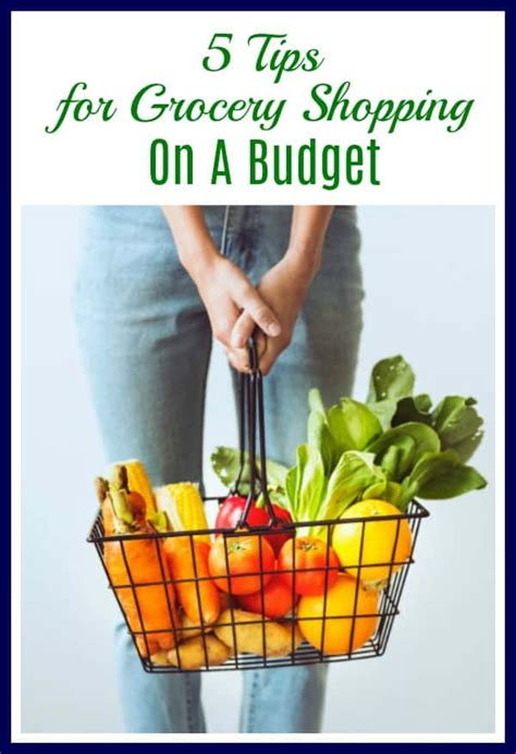How To Shop On A Budget For Groceries