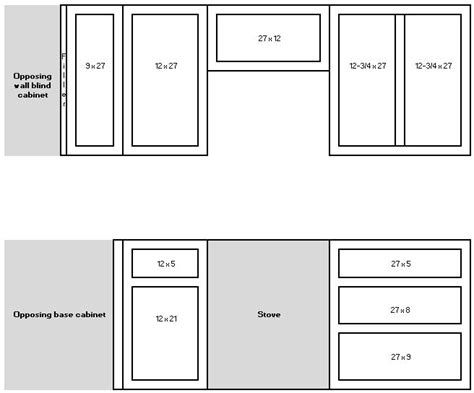 How To Size Cabinet Doors For Opening