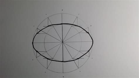 How To Sketch An Ellipse Oval