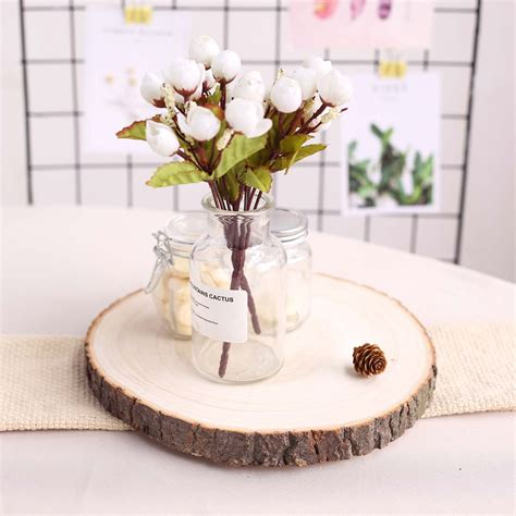 How To Slice Wood Round Centerpiece