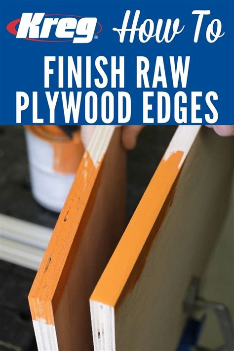 How To Smooth Plywood Edges