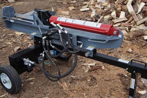 How To Split Wood Fast With A Log Splitter