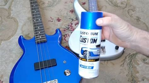 How To Spray Lacquer On Guitar