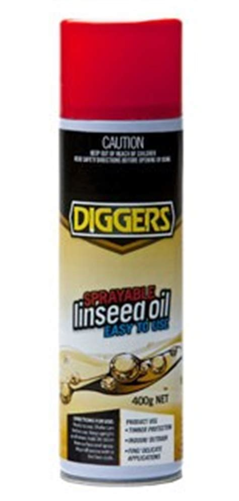 How To Spray Linseed Oil