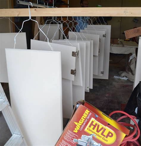 How To Spray Paint Mdf Cabinet Doors