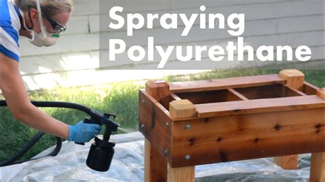 How To Spray Polyurethane With Hvlp