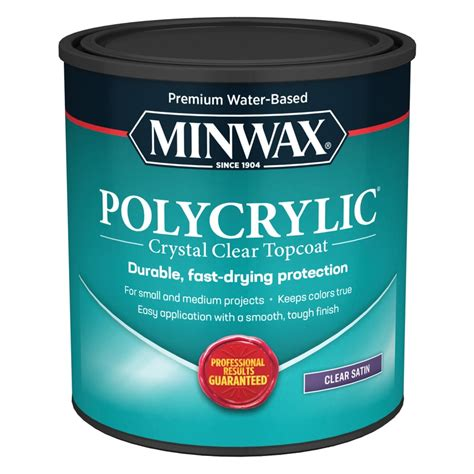 How To Spray Water Based Polyurethane Over Water Based Acrylic