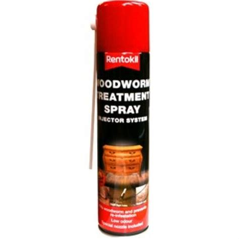 How To Spray Woodworm Treatment