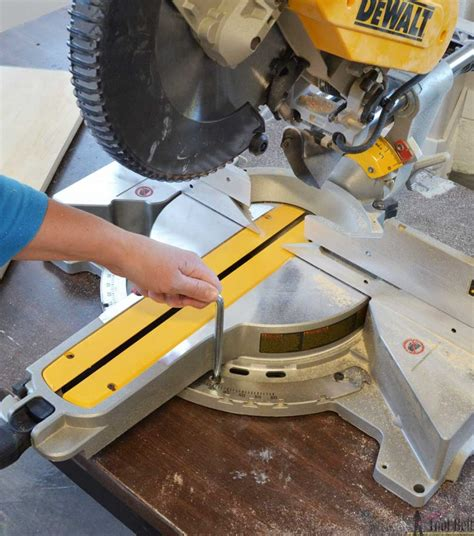 How To Square A Dewalt Miter Saw
