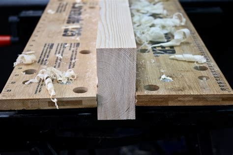 How To Square Rough Cut Lumber