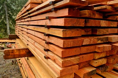 How To Stack Lumber For Air Drying