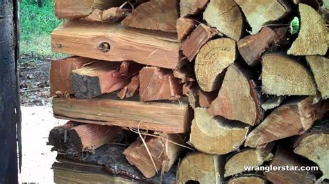 How To Stack Wood
